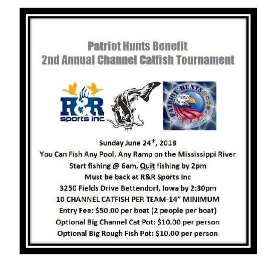2018 Patriot Hunts Catfish Tournament
