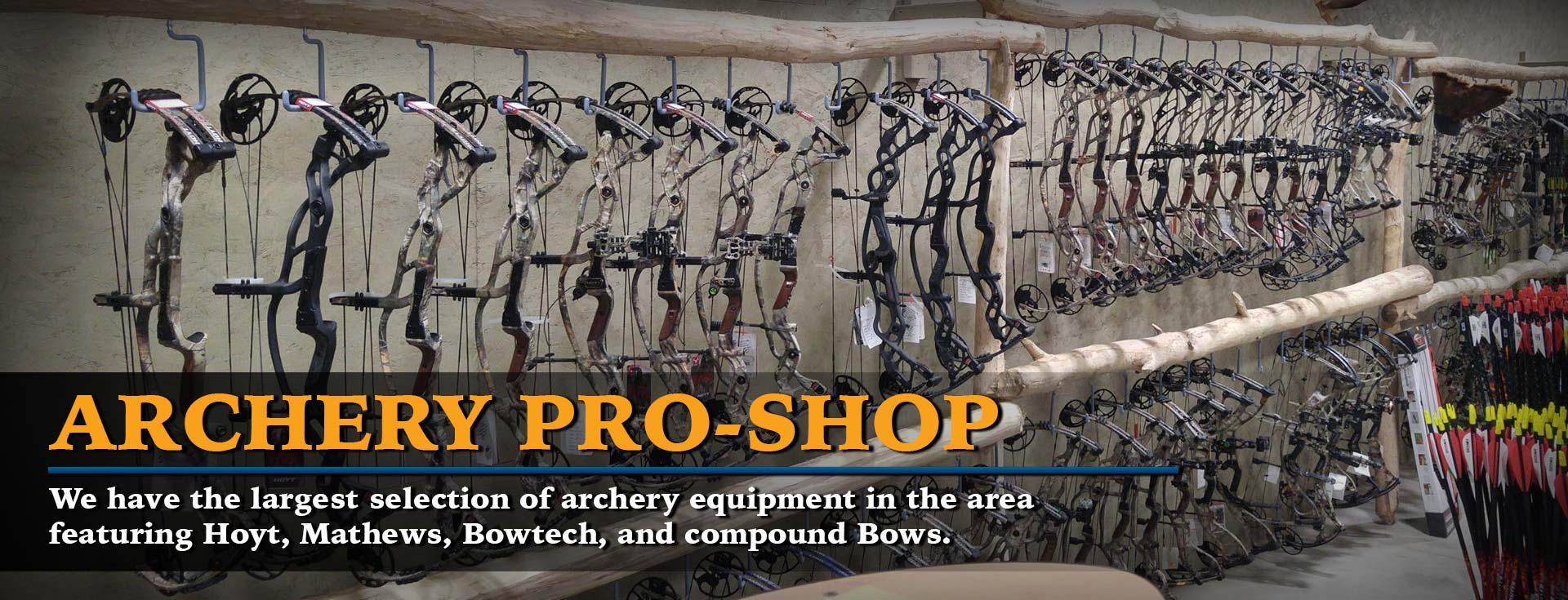 Hunting & Fishing Supplies Bettendorf IA | Archery, Bows, Crossbows